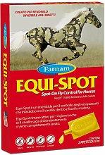 EQUI-SPOT insetticida spot-on 3 Pipette 10 ml cad.