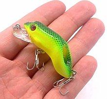 esche da pesca 1pc 55mm / 8.7g Plastica Frog Lure