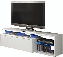 Esidra Mobile Basso TV 1 Anta, con LED-Laminato