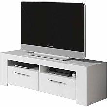 Esidra Mobile Basso TV 2 Ante-Legno Bianco, 120 x
