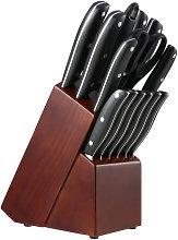 esonmus Set di coltelli da cucina, set di coltelli