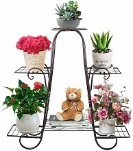Espositore per piante in vaso con supporto per
