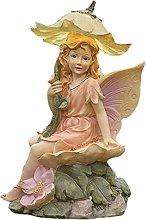 Esterni Fata Statua Ornamento da Giardino,con