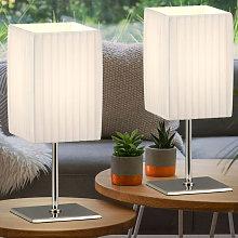 Etc-shop - Set di 2 lampade da tavolo divano
