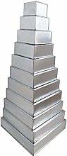 EURO TINS teglia per torta nuziale multistrato 11