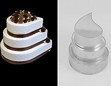 EURO TINS teglia per torta nuziale multistrato 3