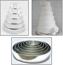 EURO TINS teglia per torta nuziale multistrato 6
