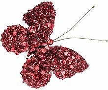 EUROCINSA RIF.28650 Natalizio, Farfalla Rossa,