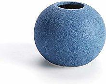 European Blue Blue Blu Nero Vasi in ceramica Fiore