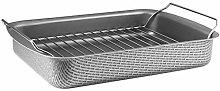 EvaSolo Teglia Forno, Alluminio, Grey, 35 x 25 x