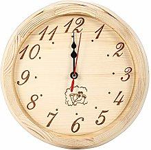 EVTSCAN Orologio Timer in Legno, 23 cm di Diametro