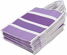 EVTSCAN Sacchetto regalo da 25 pezzi in carta