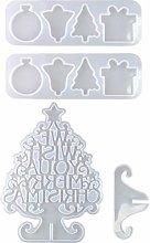 EXCEART Albero di Natale Stampo in Silicone