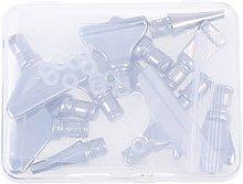 EXCEART Metallo Penna Trapano Punte di Diamonds