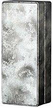EXCEART Scatola di Latta Rettangolare in Metallo