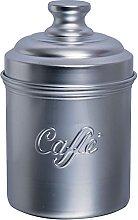 Excelsa Barattolo caffè, in Alluminio, Argento