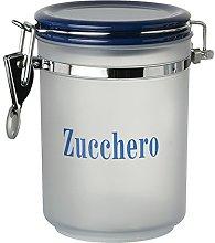Excelsa Barattolo per Zucchero, Plastica, Blu