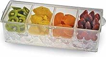 Excelsa On Ice Piatto Condimento 4 Scomparti,