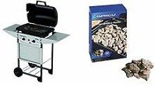 Expert Plus Barbecue Gas con Pietre Laviche, Grill