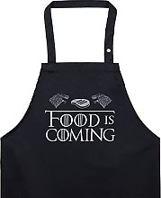 EXPRESS-STICKEREI Food is Coming Grembiule da