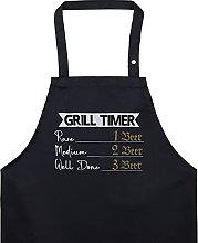 EXPRESS-STICKEREI Grilltier, grembiule da cucina