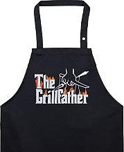EXPRESS-STICKEREI The Grillfather - Grembiule da