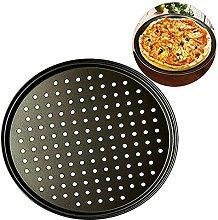 EXTLEZSA 2 Pezzi Antiaderente per Pizza Teglia