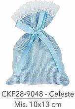 f.caruso Set 10 sacchettini portaconfetti,