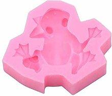 Fablcrew - Stampo in silicone a forma di rana per