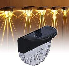 Faceuer Luci solari a LED per Esterni, luci solari
