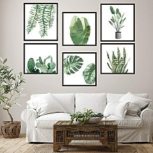 Fai da te creativo piante verdi foto cornice
