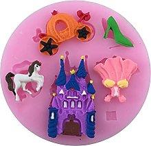 Fairy Tale Pumpkin Car Horse Shoes Skirt Castle