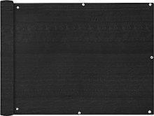 Famehours Paravento da Balcone HDPE 90x600 cm