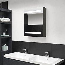 FAMIROSA Armadietto Bagno con Specchio e LED