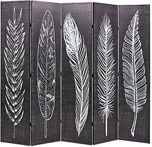 FAMIROSA Paravento Pieghevole 200x170 cm Stampa