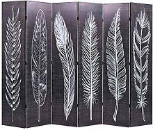 FAMIROSA Paravento Pieghevole 228x170 cm Stampa