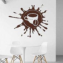 fancjj Tazza di caffè Adesivo Tempo di Pausa