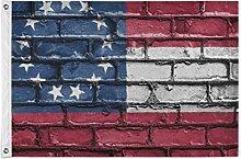 FANTAZIO - Bandiera da giardino con bandiera