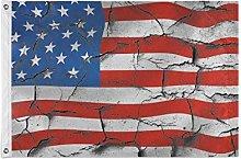 FANTAZIO Bandiera da giardino USA