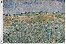 FANTAZIO Bandiera da giardino Van Gogh Auvers
