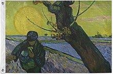 FANTAZIO - Bandiera da giardino Van Gogh, la