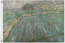 FANTAZIO Bandiera da giardino Van Gogh