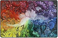 FANTAZIO Tappeto colorato Arcobaleno Disegno
