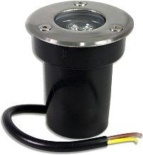 Faretto 2W Incasso 1 LED da Esterno 220v