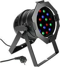 Faretto a LED PAR56 RGB 18LED 1W - Cameo