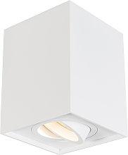 Faretto bianco orientabile - QUADRO 1 up