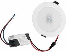 Faretto da incasso a LED con sensore di movimento