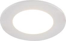 Faretto da incasso bianco LED dimmerabile 3