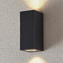 Faretto da parete Lavina da esterno, GU10, 2 luci