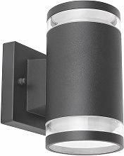 Faretto da parete per esterno UP & DOWN lampada